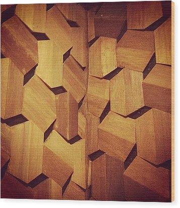 Instagram Photo Wood Print by Tito Santika