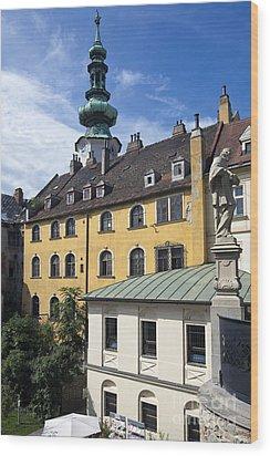 Bratislava Wood Print by Andre Goncalves