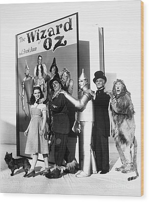 Wizard Of Oz, 1939 Wood Print by Granger