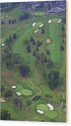 9th Hole Sunnybrook Golf Club 398 Stenton Avenue Plymouth Meeting Pa 19462 1243 Wood Print by Duncan Pearson