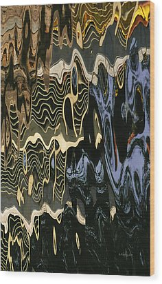 Abstract 13 Wood Print by Xueling Zou