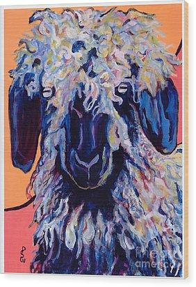 Adelita   Wood Print by Pat Saunders-White