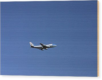 Air Force One Wood Print by Duncan Pearson