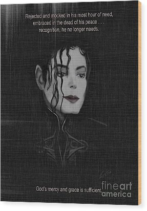 Alone In The Dark II Wood Print by Reggie Duffie