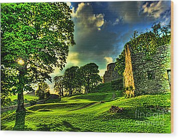 An Irish Fantasy Wood Print by Kim Shatwell-Irishphotographer