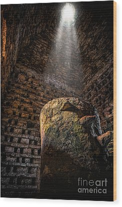 Ancient Dovecote Wood Print by Adrian Evans