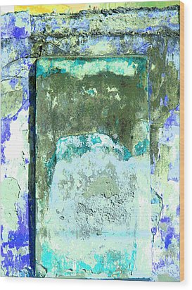Ancient Wall 2 By Michael Fitzpatrick Wood Print by Mexicolors Art Photography