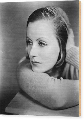 Anna Christie, Greta Garbo, 1930 Wood Print by Everett
