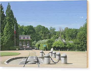 Wood Print featuring the photograph Armistice Clearing In Compiegne by Travel Pics