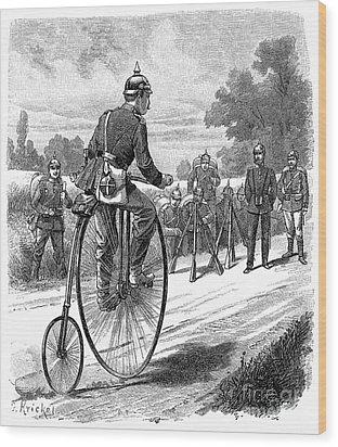 Army Messenger, 1890s Wood Print by Granger