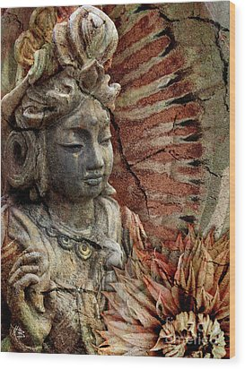 Art Of Memory Wood Print by Christopher Beikmann