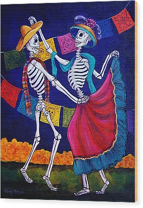 Bailando Wood Print by Candy Mayer