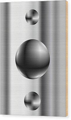 Ball Wood Print by James Eugene Albert