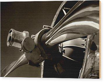 Before The Jets No. 1 Wood Print by Joe Bonita