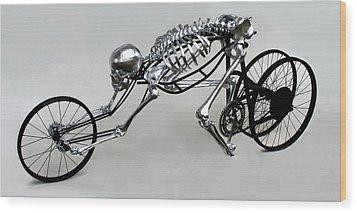 Bio Cycle Wood Print by Jud  Turner