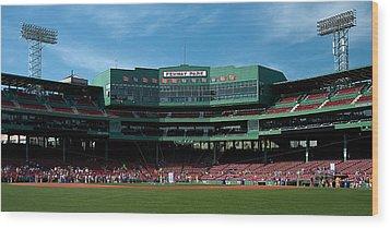 Boston's Gem Wood Print by Paul Mangold