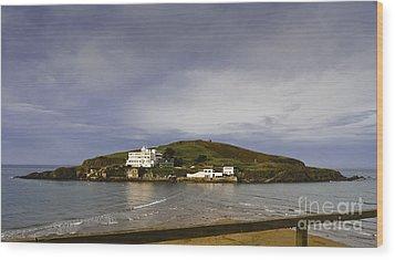 Burgh Island Devon Wood Print by Donald Davis