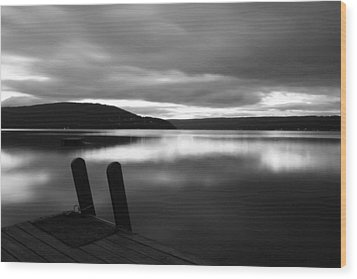 Calm Before The Storm Wood Print by Steven Ainsworth
