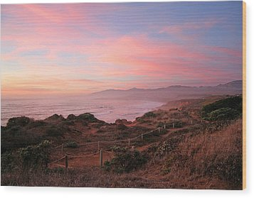 Cambria Wood Print by Michael Rock