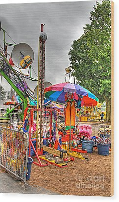 Carnival Life 2 Wood Print by Robert Pearson