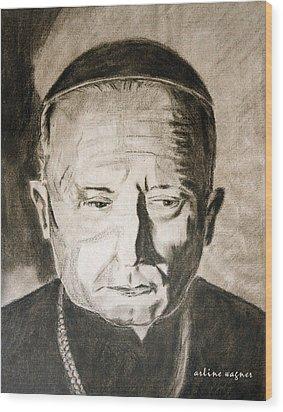 Catholic Cardinal Jozsef Mindszenty Wood Print by Arline Wagner