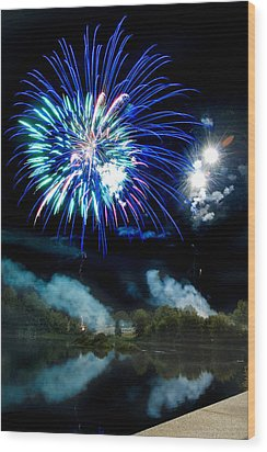 Celebration II Wood Print by Greg Fortier