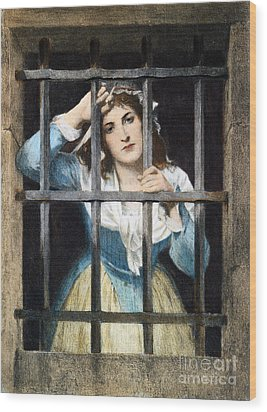 Charlotte Corday Wood Print by Granger