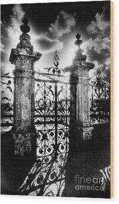 Chateau De Carrouges Wood Print by Simon Marsden