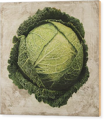 Checcavolo Wood Print by Danka Weitzen