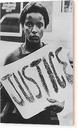 Civil Rights, 1961 Wood Print by Granger