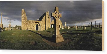 Clonmacnoise Monastery, Co Offaly Wood Print by The Irish Image Collection