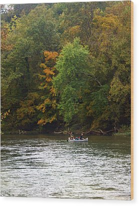 Current River 2 Wood Print by Marty Koch