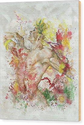 Dancing Apollo Wood Print by Rineke De Jong
