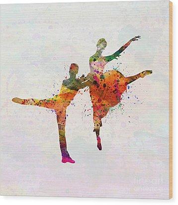 Dancing Queen Wood Print by Mark Ashkenazi