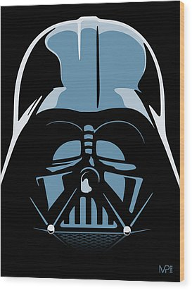 Darth Vader Wood Print by IKONOGRAPHI Art and Design