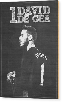 David De Gea Wood Print by Semih Yurdabak