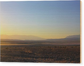 Death Valley -  A Beautiful But Dangerous Place Wood Print by Christine Till