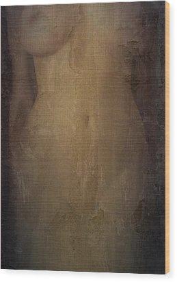 Decaying Memory Wood Print by Scott  Wyatt