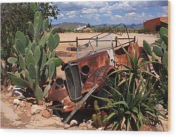 Desert Classic Wood Print by Aidan Moran