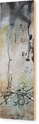 Desert Surroundings 2 By Madart Wood Print by Megan Duncanson
