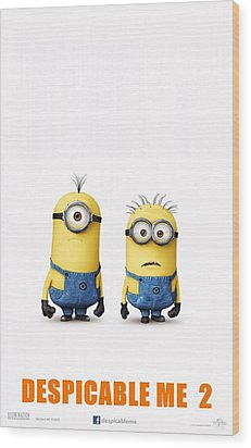 Despicable Me 2  Wood Print by Movie Poster Prints