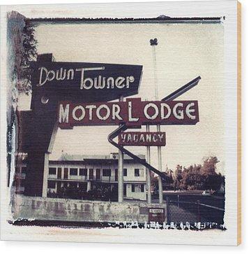 Down Towner Wood Print by Jane Linders