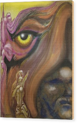 Dream Image 3 Wood Print by Kevin Middleton