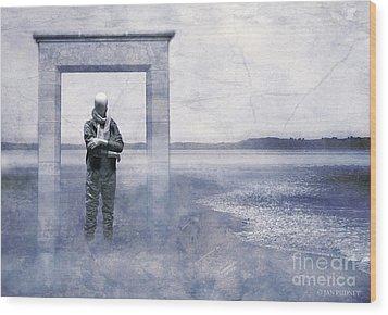 Dreamscape Wood Print by Jan Pudney