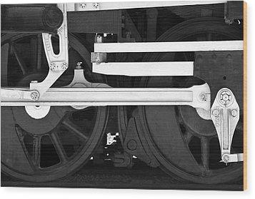 Drive Train Wood Print by Mike McGlothlen