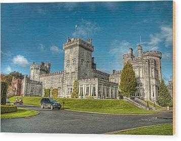 Dromoland Castle Wood Print by Noah Katz