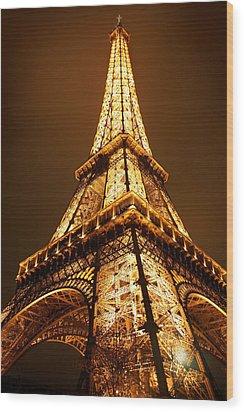 Eiffel Wood Print by Skip Hunt
