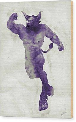 El Torito Guapo Wood Print by Joaquin Abella