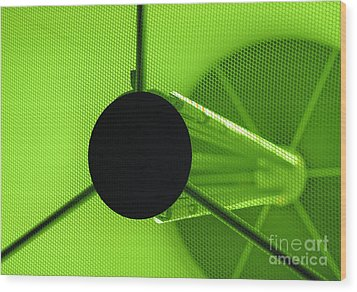 Electromagnetic Radiation Wood Print by Charles Dobbs