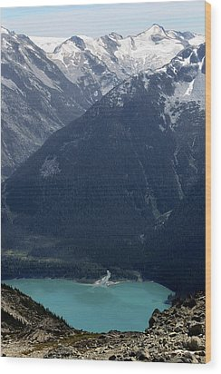Emerald Cheakamus Lake Whistler Canada Wood Print by Pierre Leclerc Photography